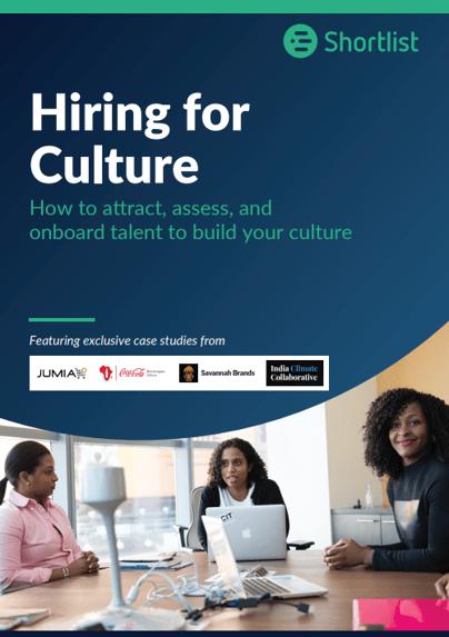 Hiring for Culture Ebook